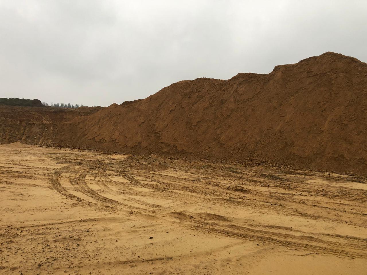 песчаный карьер