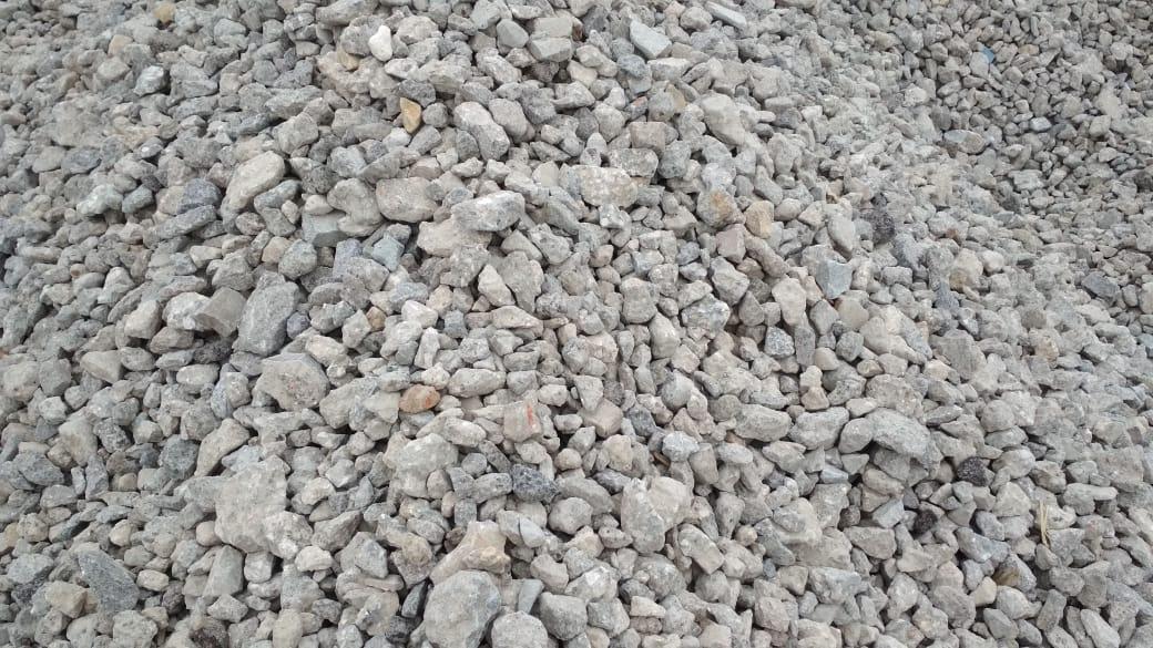 щебень вторичный бетонный фото 1